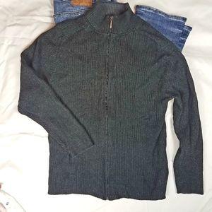 DKNY men's zip sweater